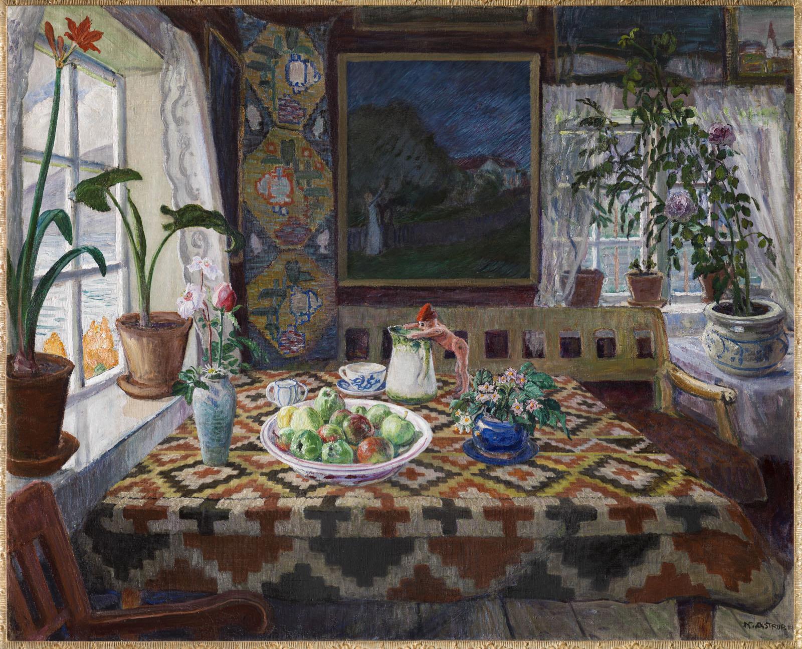 Interior Still Life: Living Room at Sandalstrand